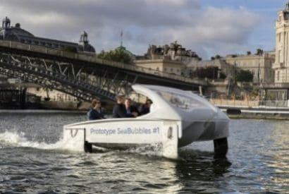 Navire du futur - Les Sea Bubbles à Paris et qu'en est-il à Nice ?