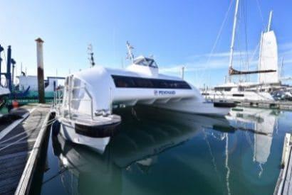 Navire du futur - Catamarans aérodynamiques et solaires