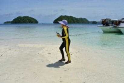 Pacific's Palau forces tourists to sign eco-pledge