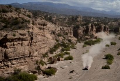 After the Dakar, a 100% electric rally-raid settles in Argentina