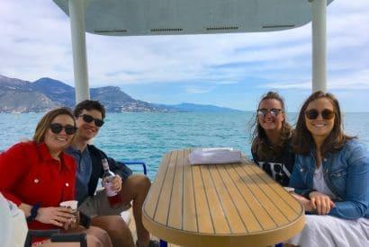 Navigation printanière au cœur de la Côte d'Azur