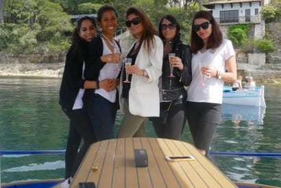 Bachelorette party in Nice on a solar boat