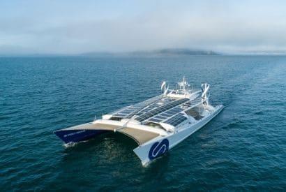 Navire du futur - Energy Observer à l'hydrogène au vent et au solaire