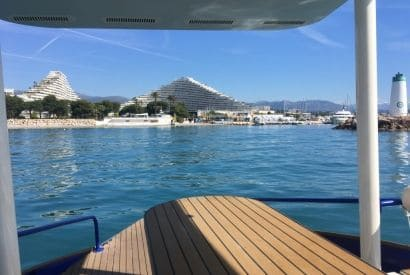 Solar navigation record from Beaulieu to Marina Baie des Anges