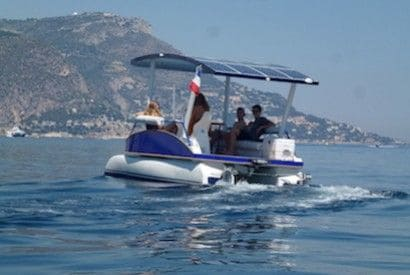 Plane, car or boat? Why is the solar boat on duty 1st?