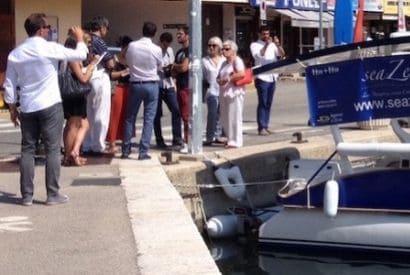 Baptême du Seazen à Beaulieu sur Mer