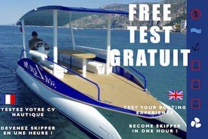 Testez gratuitement votre CV nautique