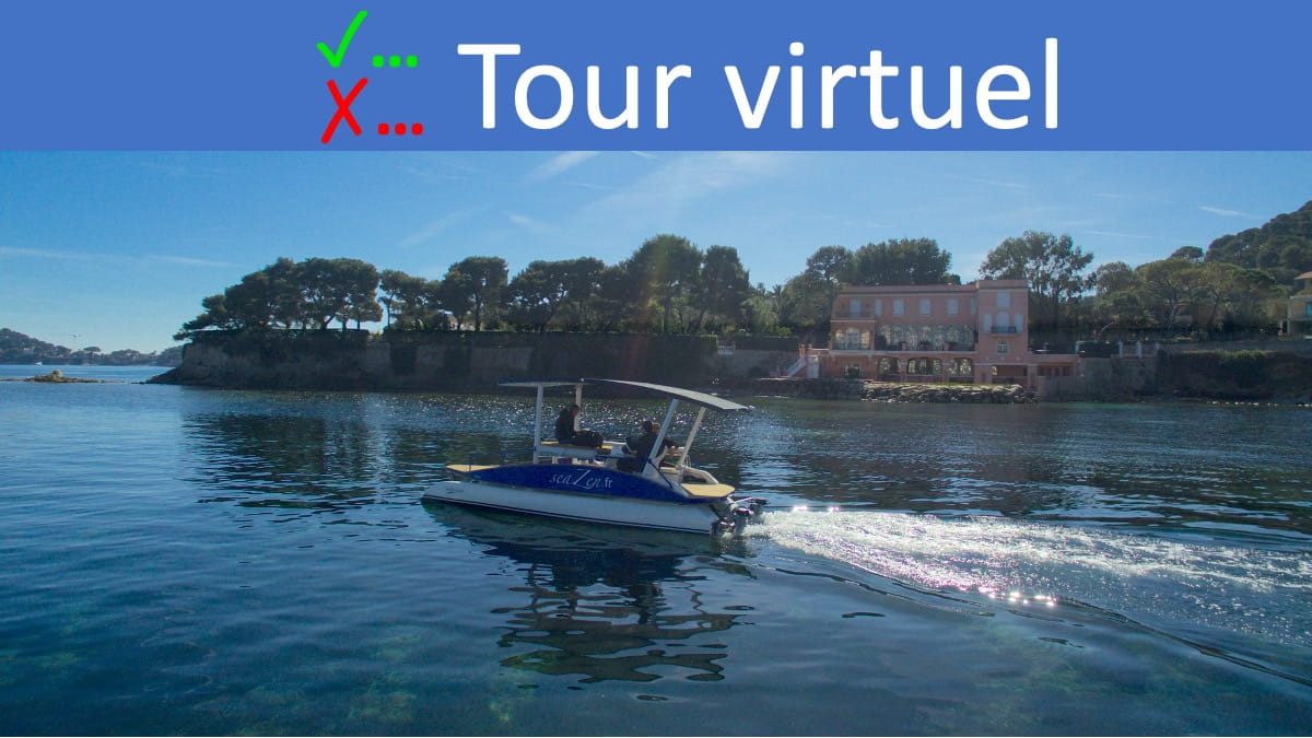 Virtual Tour on a Solar Powered Boat