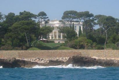 Villa de la Côte d'Azur - Château de la Croë
