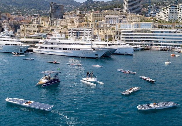 How did Monaco become the cradle of electric yachting?