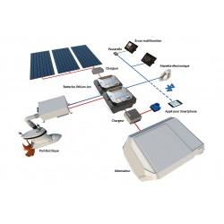 Système de propulsion électrique Torqeedo et alimentation