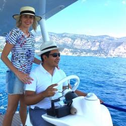 Romantic solar boat tour