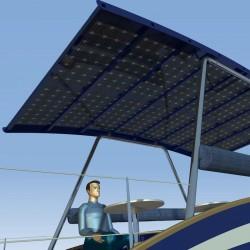 Nouveau toit solaire semi translucide permet de bénéficier d'une ombrière