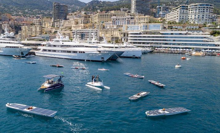 Suncy Solar Boat's Octopus at the Monaco Energy Boat Challenge, Photo Yacht Club Monaco