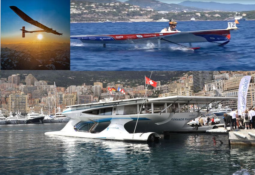 Solar demonstrators popularized by Monaco