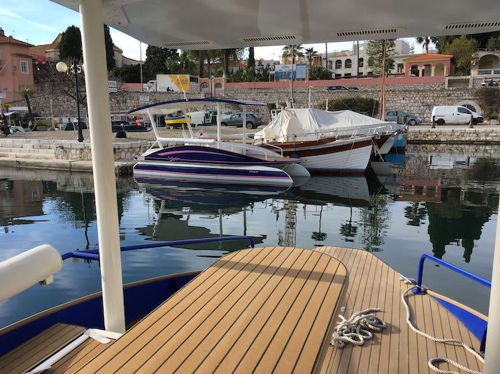 Yacht Octopus at Beaulieu
