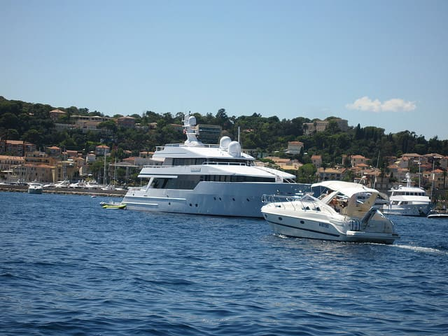 Yacht Charters near the port of Saint-Jean-Cap-Ferrat