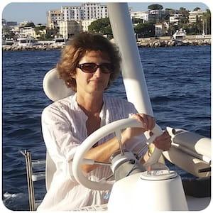Mylène, CEO of seaZen à Juan les Pins