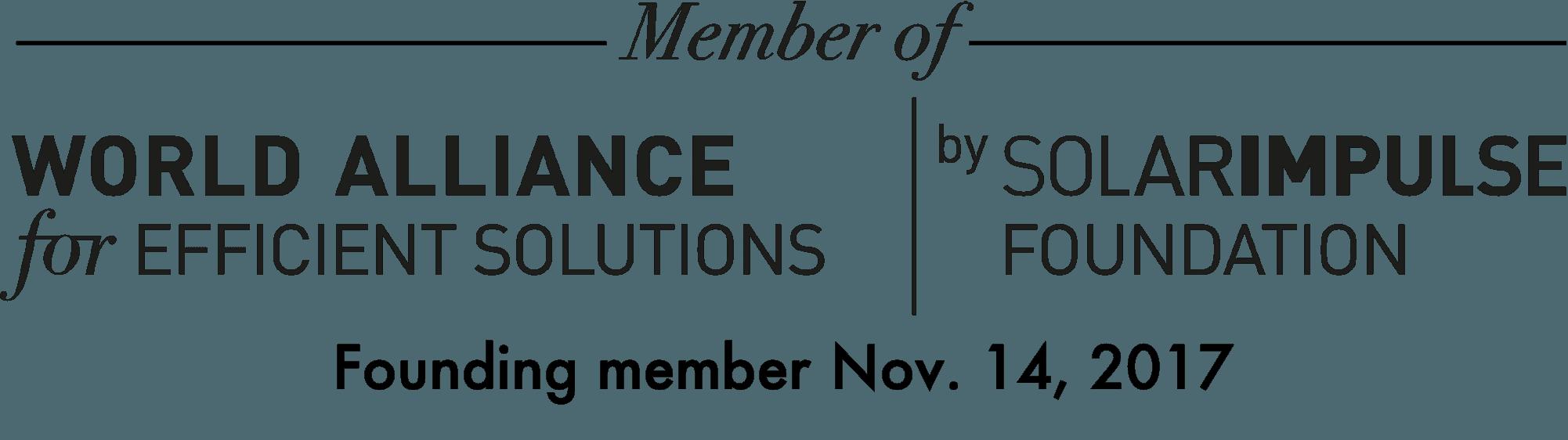 Label 1000 Efficient Solution - Solar Impulse Foundation