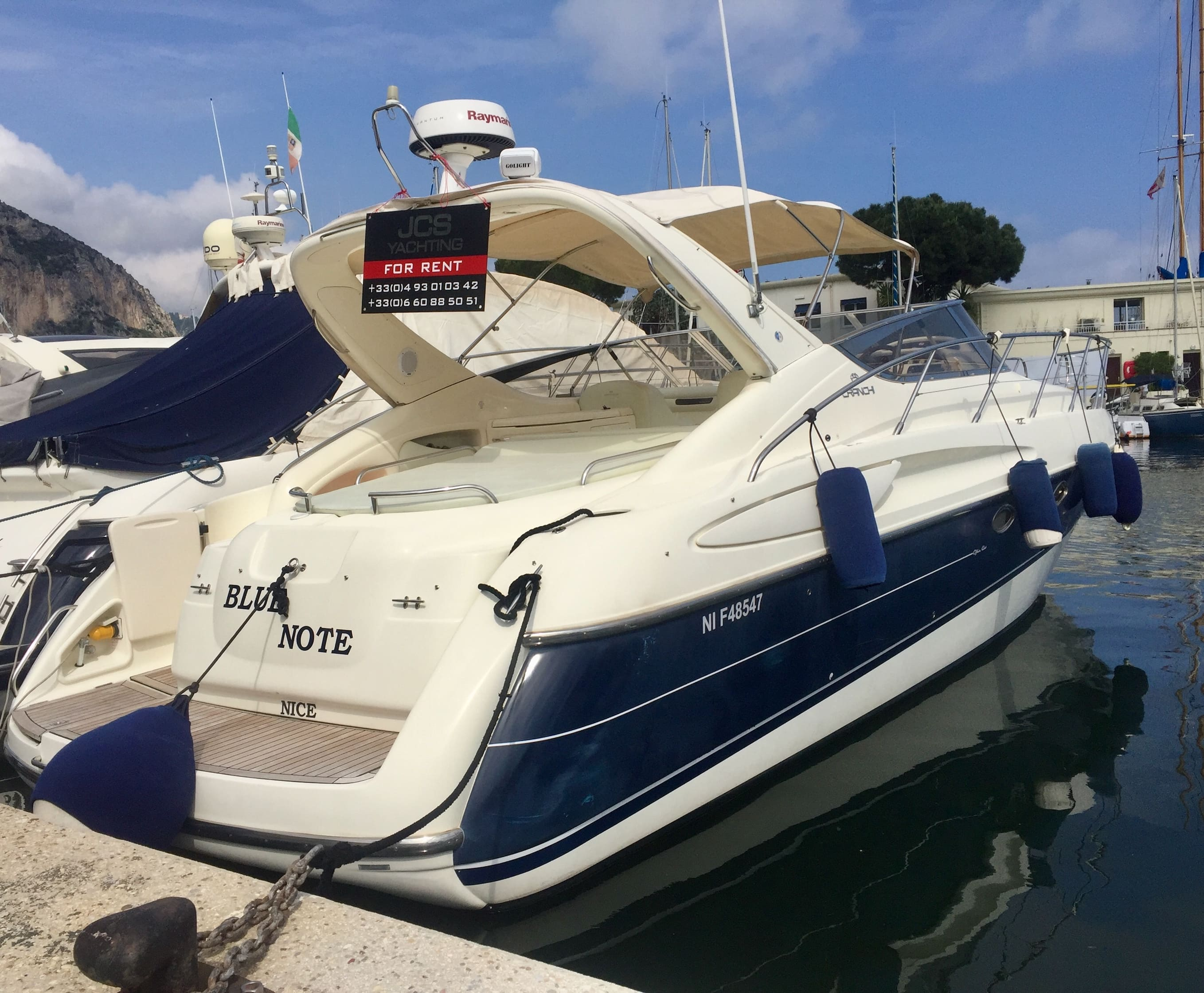 Boat rental - Nice à la carte up to 10 persons