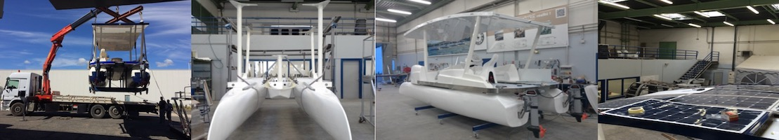 Bateau solaire neuf   SeaZen